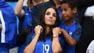 Fransa-Romanya maçındaki tribün güzelleri