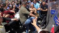 Chp yürüyüşünde, CHP'liler ile polis arasında arbede çıktı!