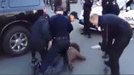 Şampiyona polis dayağı 7 kişi durdurdu