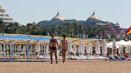 Antalya'nın hayalet plajları! Birkaç turist için...