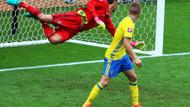 Euro 2016'da İrlanda İsveç 1-1 berabere kaldı