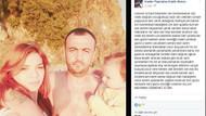 Eşi öldürülen hamile kadından yürek burkan paylaşım