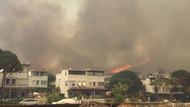 Son dakika! Bodrum Akyarlar'da orman yangını