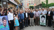 Ali İsmail Korkmaz Eskişehir'de saldırıya uğradığı fırının önünde anıldı