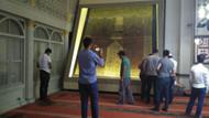 500 yıllık Kabe örtüsüne büyük ilgi