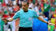 UEFA 6 hakemi evine gönderdi! Cüneyt Çakır...