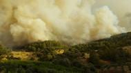 Antalya Kumluca'daki yangın söndürülemiyor!