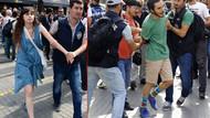 Taksim'de LGBTİ eylemine polis müdahalesi