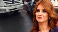 Esra Erol arabasıyla kaza yaptı, ölümden döndü!
