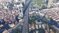 İstanbul trafiğinin bittiği gün! Havadan görüntüler