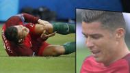 Ronaldo'nun gözyaşları! Finalde sakatlandı...