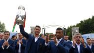 Şampiyon Portekiz'e ayak bastı