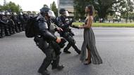 ABD'de polise karşı direnişinde en çok dikkat çeken kadın: Ieshia Evans