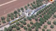 İtalya'da iki tren çarpıştı: En az 20 ölü, onlarca yaralı