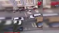 Polis Zırhlı Personel Taşıyıcısı'nı böyle kovaladı