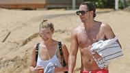 Margot Robbie ve sevgilisi Tom Ackerley çifti tatilde