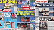 21 Temmuz 2016 öne çıkan gazete manşetleri!