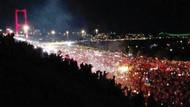 Boğaziçi Köprüsünde binlerce kişilik protesto