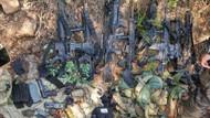 Marmaris'te ormanlık alanda darbeci askerlerin silahları bulundu!