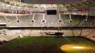 Vodafone Arena'da kaybolan darbeciler 20 dakika dışarı çıkamadı!