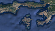 Yunan adası havadan ve denizden ablukaya alındı