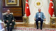 Erdoğan, Akar'ı Cumhurbaşkanlığı Sarayı'nda kabul etti