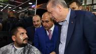 Ağda yaptıran vatandaş karşısında Erdoğan'ı görünce...