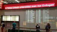 Viyana Havalimanı'ndaki rezil yazı kaldırıldı!