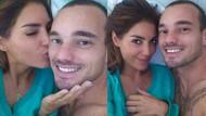 Wesley Sneijder'ın eşi Yolanthe Cabau