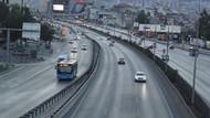 İstanbul hayalet şehir... Trafik yoğunluğu yüzde 1!