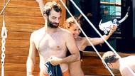 Burçin Terzioğlu ve İlker Kaleli teknede yakalandı