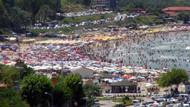 İstanbul'da plajlar doldu taştı! Valilik uyardı