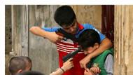 Ramazan Bayramı'nda objektiflere yansıyan en üzücü kare...