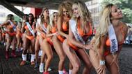 Brezilya'da en güzel kalça yarışması!