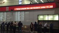 Viyana Havalimanı'nda Türkiye'ye rezil hakaret