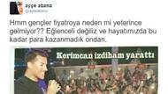 Ayçe Abana'nın Kerimcan Durmaz Tweet'i ortalığı karıştırdı!