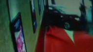 Kadın sürücü balık restoranına arabasıyla böyle daldı!