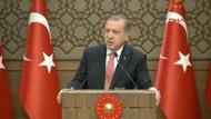 Erdoğan: Bir bayan kardeşimizin başı kopmuş, çatıdan aldık
