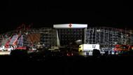AKM'deki tören kaza nedeniyle iptal edildi