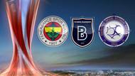 İşte UEFA Avrupa Ligi'nde Fenerbahçe, Osmanlı ve Başakşehir'in rakipleri!