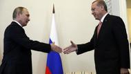 Erdoğan ve Putin buluşmasından ilk görüntüler