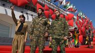 YPG'den Venedik'te kırmızı halıda terör propagandası!
