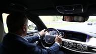 Erdoğan kendi kullandığı araçla Yavuz Sultan Selim Köprüsü'nden geçti