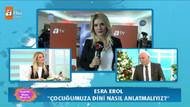 Esra Erol'dan Nihat Hatipoğlu'na kurban sorusu