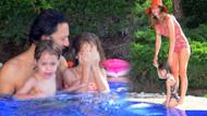 Tuba Ünsal bayramda eşi ve çocuklarıyla tatilde