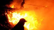 Bodrum yanıyor! Çöplük yangını ormana sıçradı