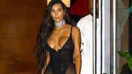 Kim Kardashian bu kez kendini aştı!