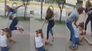 Kızlar kavga etti ortalık karıştı!