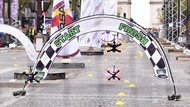 Paris'te heyecanlı yarış!