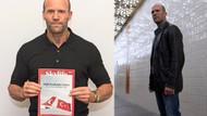 Jason Statham'dan milli irade fotoğrafı